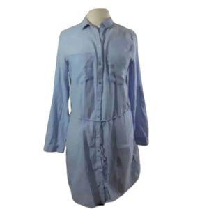 H&M sz 12  light blue chambray shirt Dress